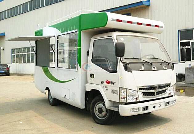 Jinbei mobile vending truck