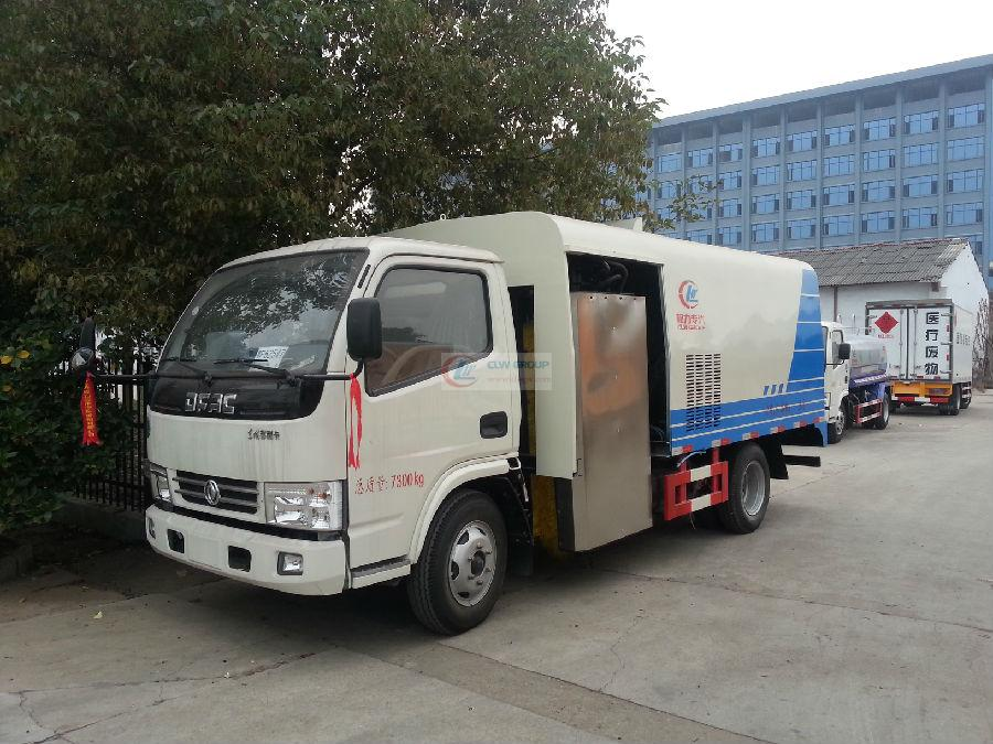 Dongfeng Furika guardrail cleaning truck