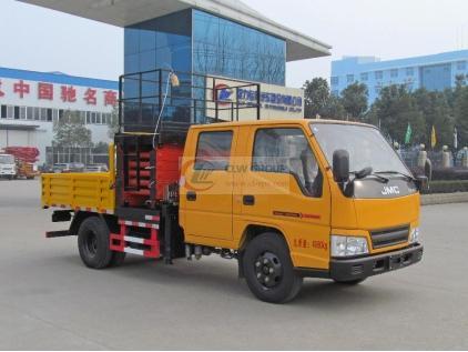 Jiangling JMC New Shunda Scissor Hydraulic Lifting Platform Aerial Work Truck, Aerial Work Truck
