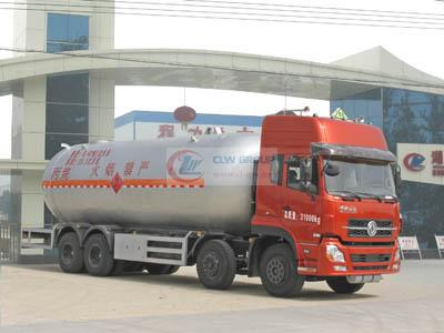 Dongfeng Tianlong 8X4 liquefied gas transport vehicles (35.5 cubic meters)