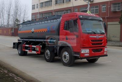 FAW chemical liquid transport vehicles