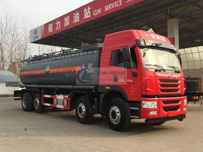 FAW 8X4 corrosive materials tank transporter (18.5 CBM)