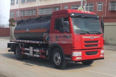 Jiefanglong V corrosive goods tank transporter (9 cbm)