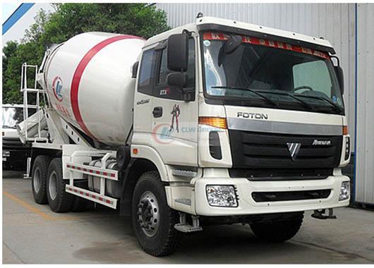 Foton Auman 10  cbm concrete mixer truck