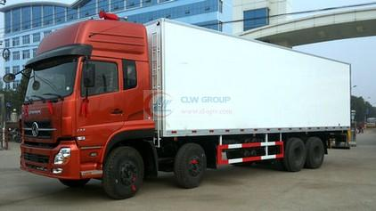 Dongfeng Tianlong 8×4 refrigerated trucks (9.5 meters Euro 4 refrigerated trucks)