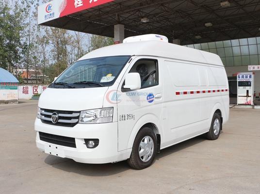 福田G7面包式冷藏车(5.3立方)正侧(车头向右)