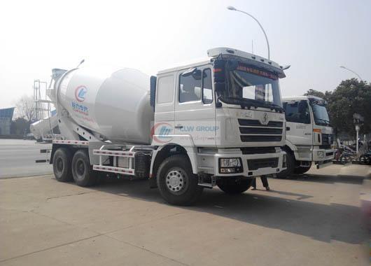 Shaanxi Automobile Delong 10-12  cbm mixer truck