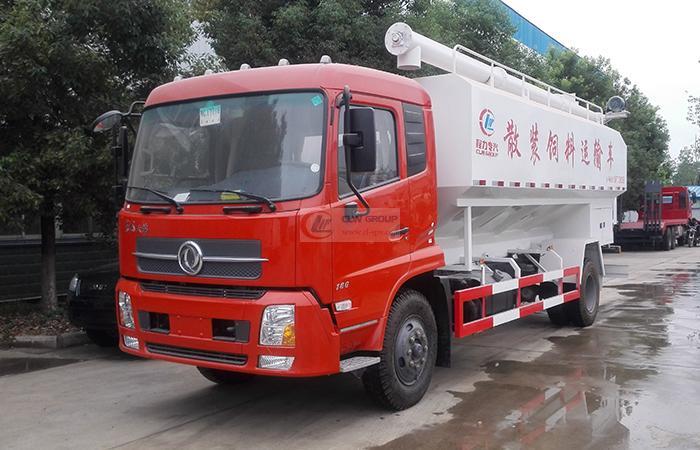 Dongfeng Tianjin 10-ton  EuroFourth Bulk Feed Transporter