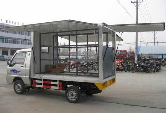 福田驭菱售货车左侧