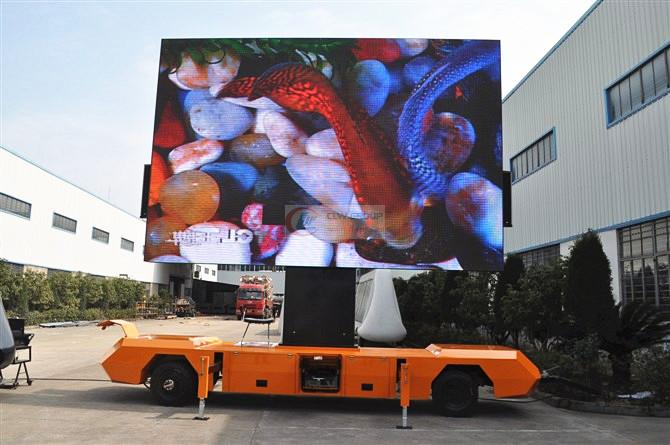牵引  LED Advertising truck