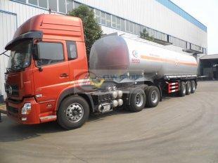 Camion-citerne en plastique revêtu d'acide sulfurique et d'acide chlorhydrique, transporteur chimique
