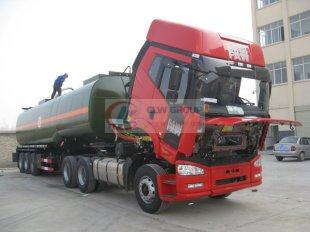 Anticorrosive tanker for hazardous chemicals, chemical transporter