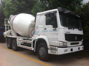 Sinotruk Howo 12 cbm concrete mixer truck, mixer truck | concrete truck