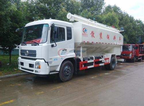 EuroSix Dongfeng 12  cbm 6 caminhão de alimentação de toneladas