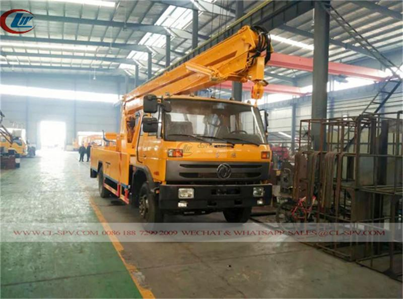 Dongfeng 153 aerial operating truck (22m)