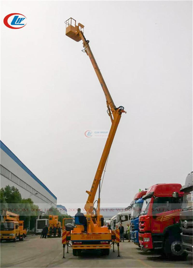 Dongfeng 14m aerial operating truck