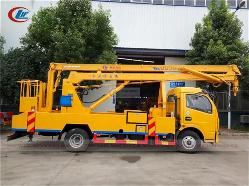 Dongfeng 18m aerial platform truck
