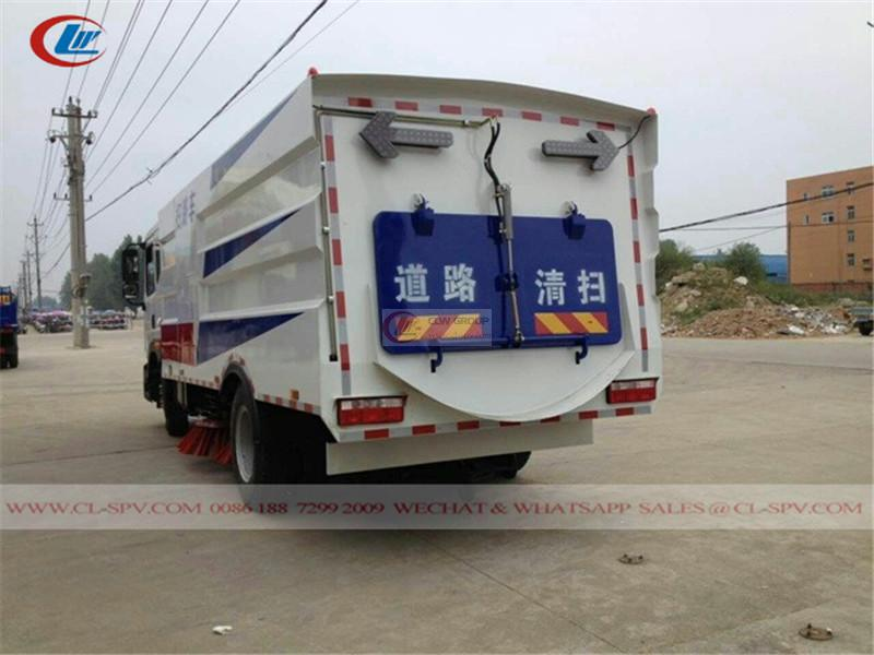 Dongfeng D9 road sweeper
