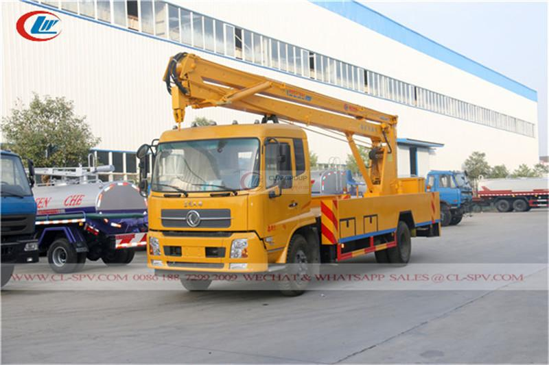 Dongfeng Tianjin 22m Aerial Operating Truck