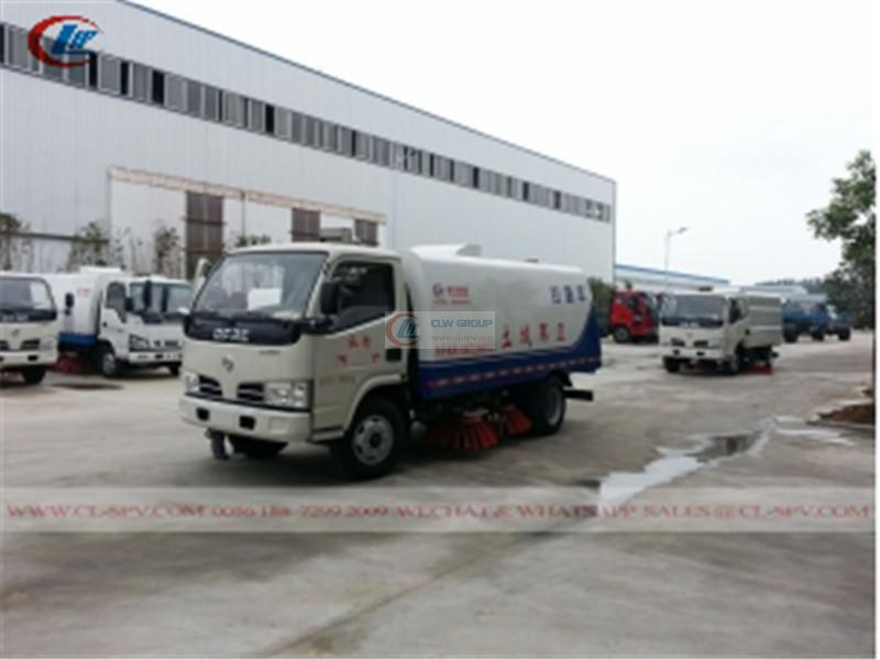 Dongfeng street road sweeper