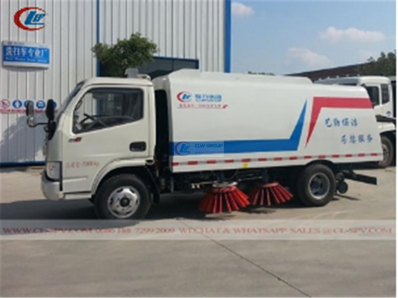 Dongfeng street road sweeper vehicle