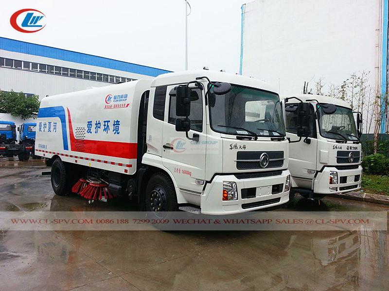 Dongfeng KingRun street sweeper truck