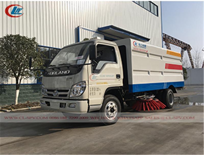Foton street sweeper truck