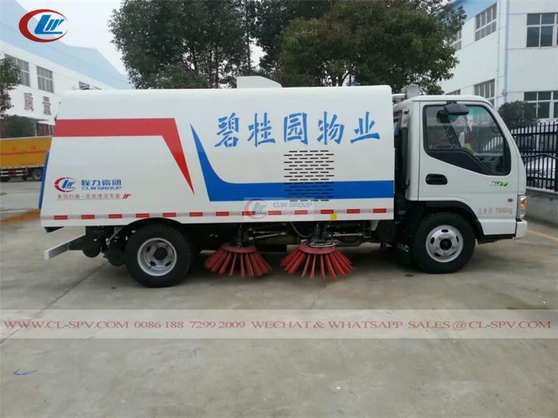 Jianghuai road sweeper