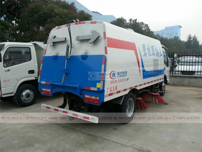 JAC Jianghuai road sweeper truck