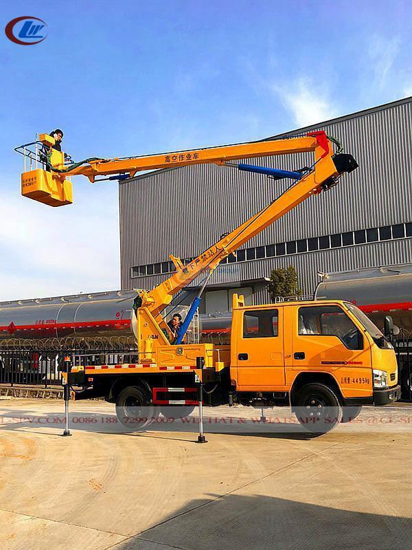 JMC 12m  small  Aerial  Operation / Bucket Truck