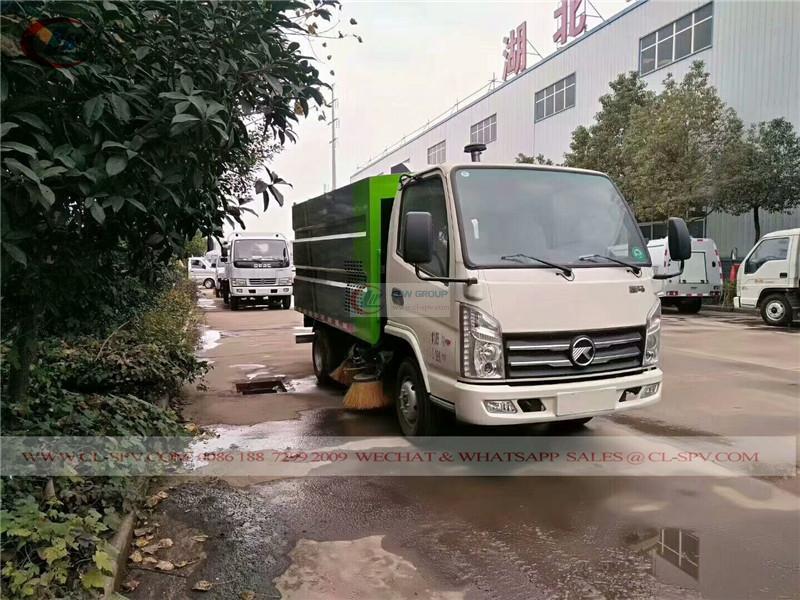 Kaima street sweeper vehicle