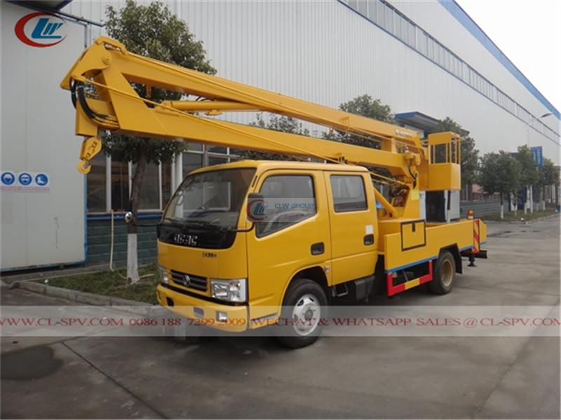 Dongfeng 12m aerial operating truck