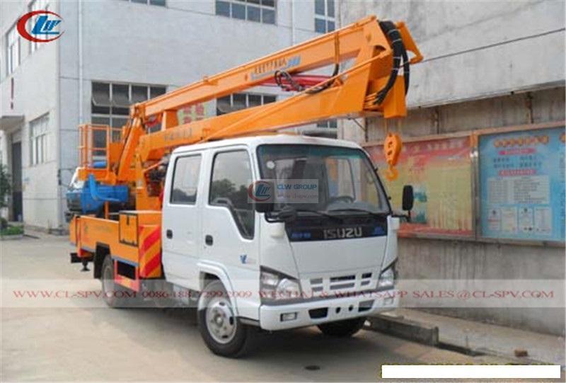 Qingling Isuzu Aerial Operating Truck