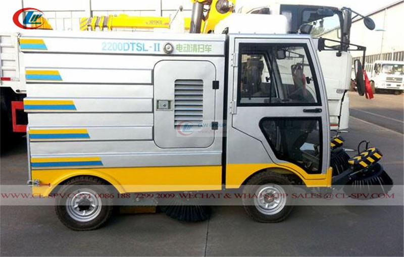 fully enclosed electrical <a target='_blank' href='https://www.runtrucks.cn/city-sanitation-truck/road-sweeper'>road sweeper</a>