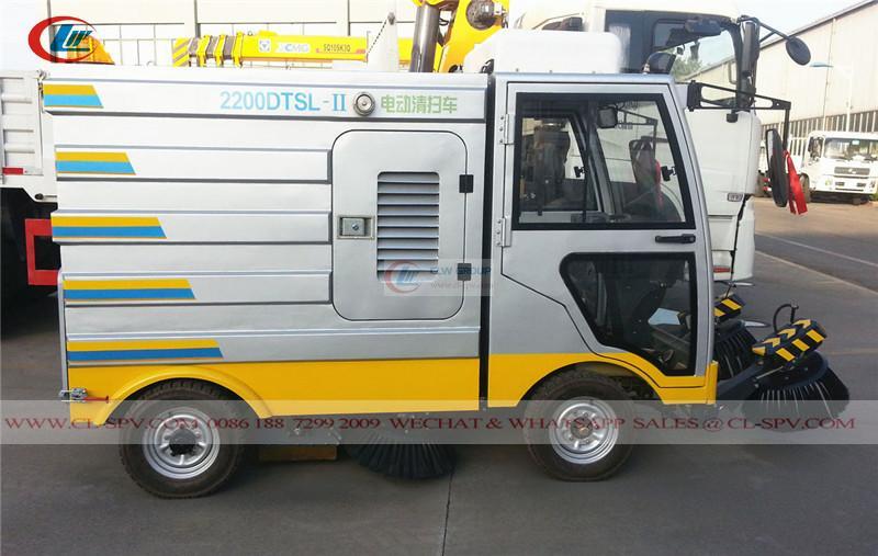 China electrical <a target='_blank' href='https://www.runtrucks.cn/city-sanitation-truck/road-sweeper'>road sweeper</a>
