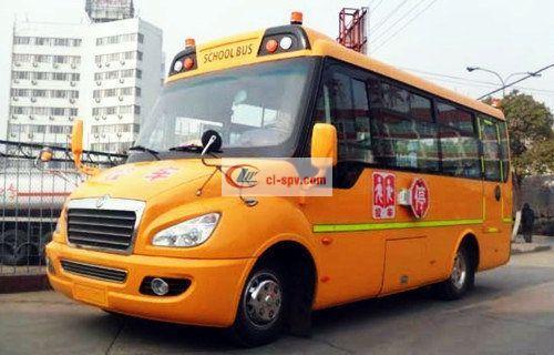 东风24-37座幼儿园校车图片