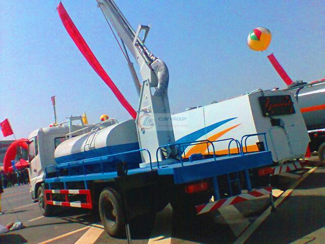 Dongfeng Tianjin truck-mounted sling sprinkler