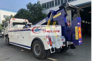 重汽豪瀚12吨重型清障车