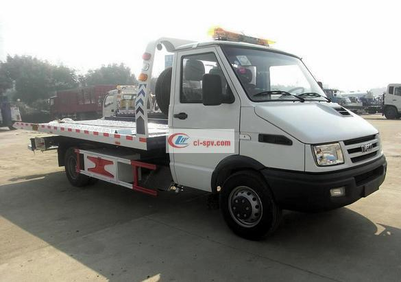 Iveco Pritsche One Tow Two Wrecker Truck