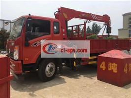 Dongfeng Suizhou XCMG 5 Ton grúa montada sobre camión