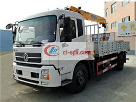 Dongfeng Tianjin XCMG 8 Ton Truck-mounted Crane