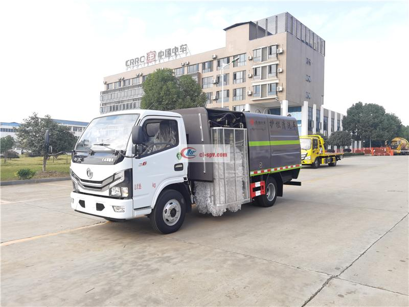 Dongfeng Xiaodolika guardrail cleaning truck