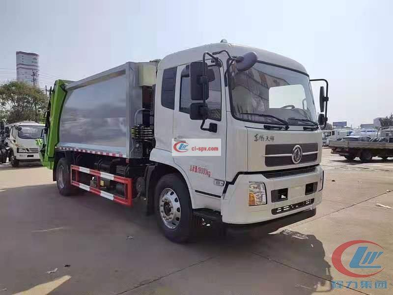 Chengli Group Dongfeng Tianjin Compression Garbage Truck