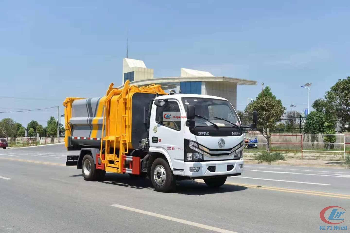 Chengli Group  Euro  Sixth Dongfeng Small Dolica Side-mounted Compression Garbage Truck