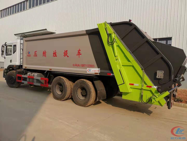compactor garbage truck