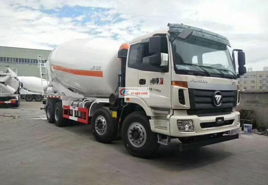 Foton Auman 16-20 cbm mixer truck