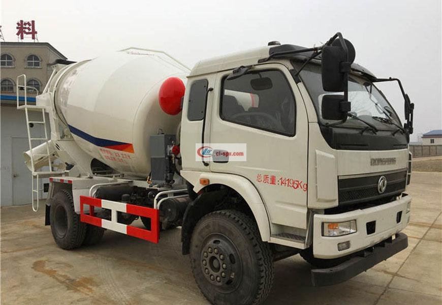 Dongfeng Shenyu 6 party mixer truck