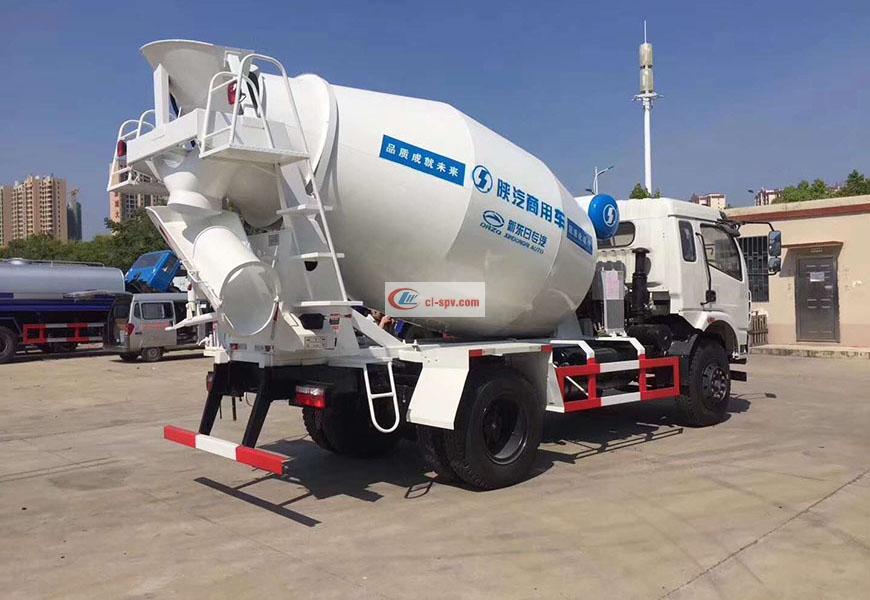 Shaanxi Automobile Huakang 5-party mixer truck