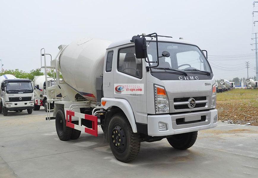 Hyundai Nanjun 5 camion de mélangeur de partie