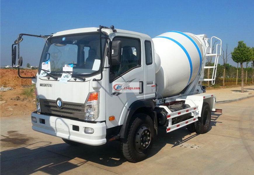 As de Sinotruk 5 camion de mélangeur de partie